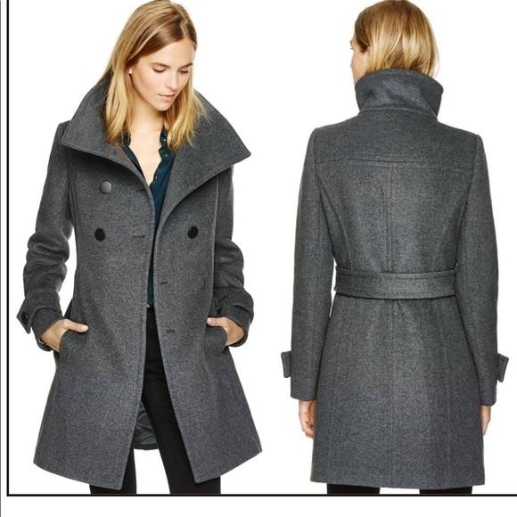 Aritzia Babton Bromley Wool Coat in Grey